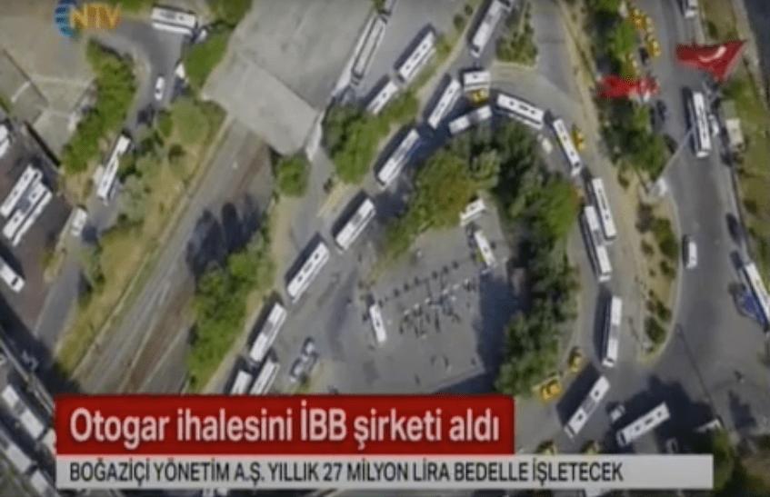 Otogarı Boğaziçi Yönetim AŞ İşletecek – NTV