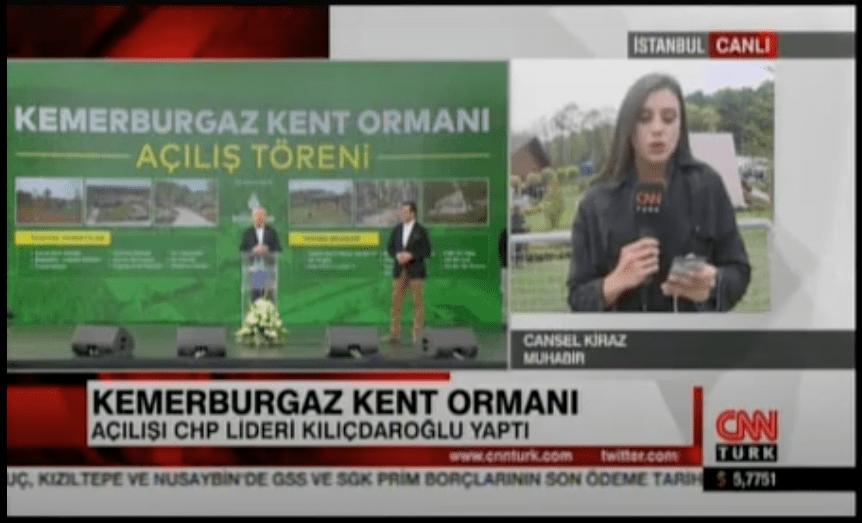 Kemerburgaz Kent Ormanı Açıldı – CNN TÜRK